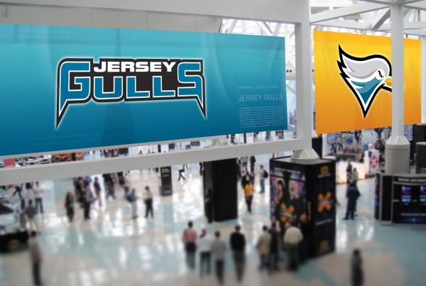Jersey Gulls Arena Advertising